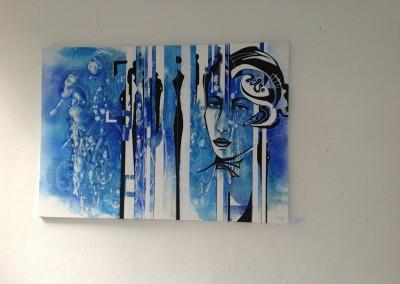 Moderne Acrylmalerei